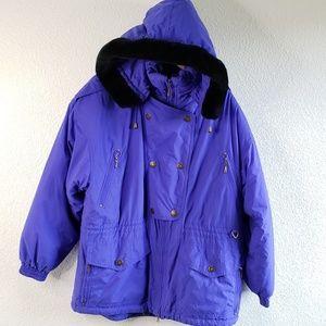 Vtg EdelWeiss Skiwear Long Snow Jacket